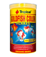 Tropical Goldfish color flakes alimento escamas
