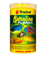 Tropical Spirulina flakes alimento vegetal peces