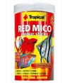 Tropical Red Mico colour sticks larva mosquito