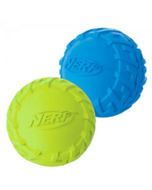 Nerf tire squeak ball