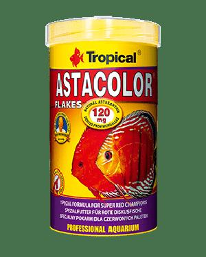 Tropical Astacolor alimento para discos rojos