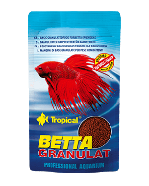 Tropical Betta granulat alimento granulado bettas