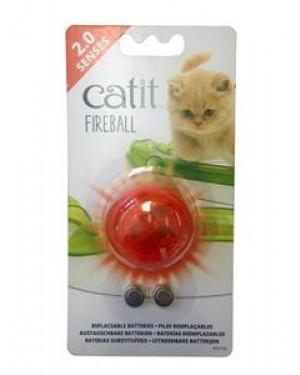Catit senses 2.0 fireball pelota iluminada para gatos