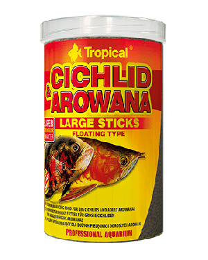 Cichlid arowana sticks largo