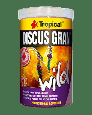 Tropical Discus gran wild alimento para discos salvajes