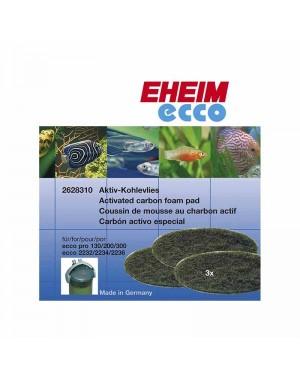 Esponjas filtrantes de carbón para filtro EHEIM Ecco