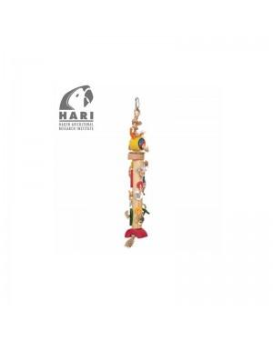 Juguete Loro, Hari torre de bambú