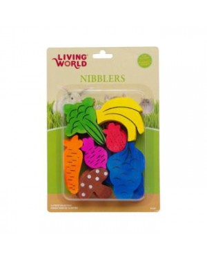 Frutas/Vegetales mix Living world nibblers