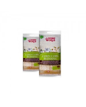 Lecho de maiz natural Living world