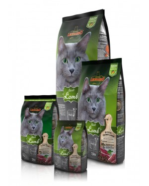 Leonardo Adulto Cordero comida para gatos