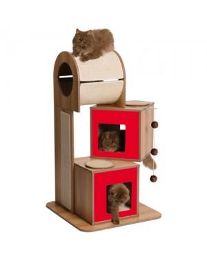 Rascador vesper para gatos v-tower
