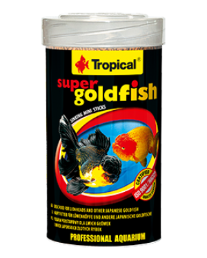 Tropical Goldfish mini sticks comida para peces