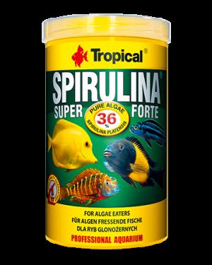 Tropical Super spirulina forte 36% escama peces
