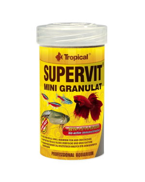 Tropical Supervit mini granulat granulo peces