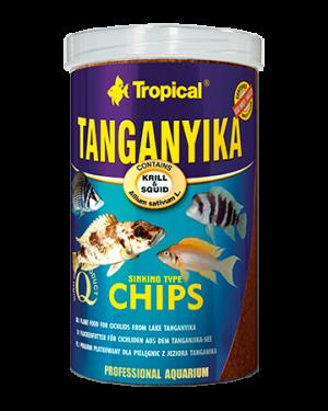 Tropical Tanganika chips cíclidos africanos