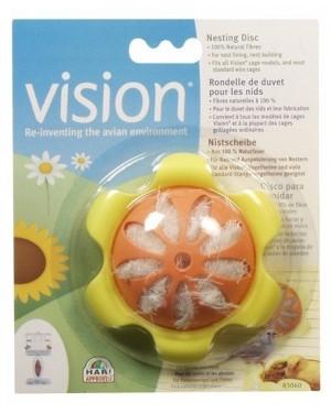 Vision disco para anidar