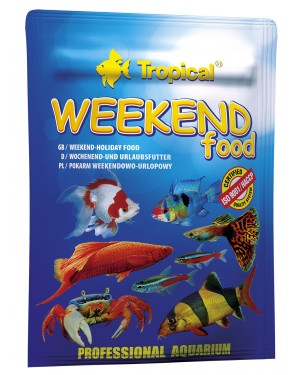 Tropical Weekend food alimento vacaciones peces
