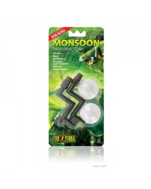 EXO TERRA Monsoon Pack  Boquillas Salida/Ventosa