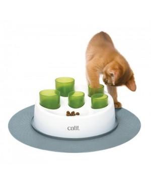 Catit senses 2.0 digger comedero interactivo para gatos