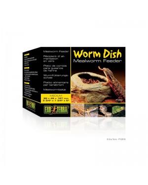EXO TERRA worm dish comedero para reptiles