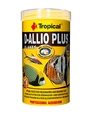 Tropical D-Allio Plus escamas para discos con ajo