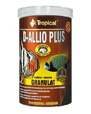 Tropical D-Allio Plus Granulat para discos rico en ajo