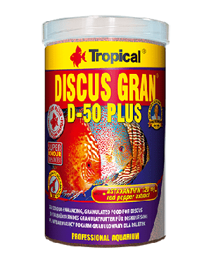 Tropical Discus gran d-50 plus comida peces disco granulo
