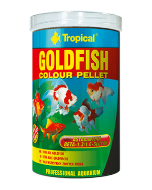 Goldfish colour pellet