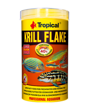 Tropical Krill flake escamas de Krill para peces