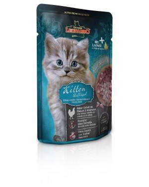 Comida húmeda de alta calidad para gatos Leonardo Kitten