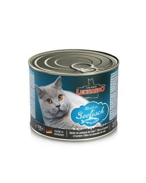 Comida húmeda en lata para gatos Rico en pescado de mar