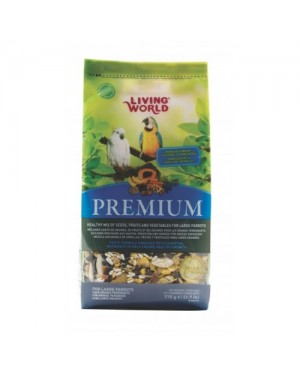 Living world premium mezcla loros