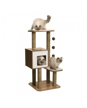 Rascador vesper para gatos v-high base