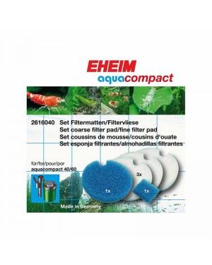 Set de esponjas filtrantes