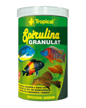 Tropical Spirulina granulat granulado vegetal