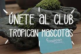 Únete al club Tropican Mascotas